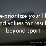 Re-prioritize your life